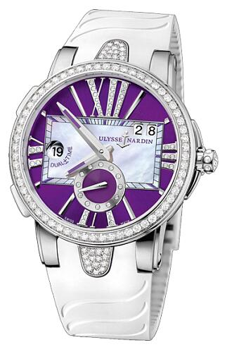 Ulysse Nardin Executive Dual Time Lady 243-10B-3C/30-07 Replica Watch