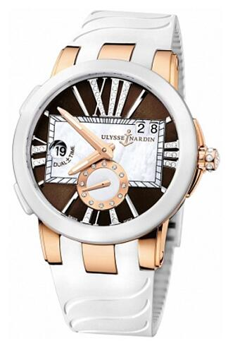 Ulysse Nardin Executive Dual Time Lady 246-10-3/30-05 Replica Watch