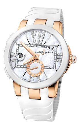 Ulysse Nardin Executive Dual Time Lady 246-10-3/391 Replica Watch