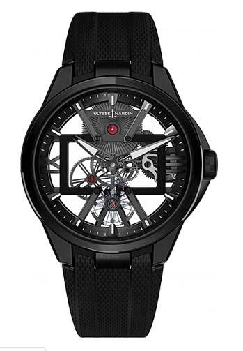 Ulysse Nardin Executive Skeleton X 3713-260-3/BLACK Replica Watch