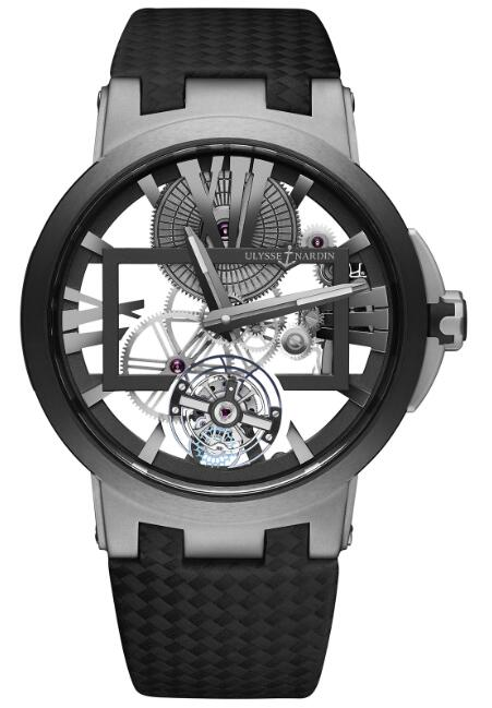 Ulysse Nardin Executive Skeleton Tourbillon 1713-139 Replica Watch