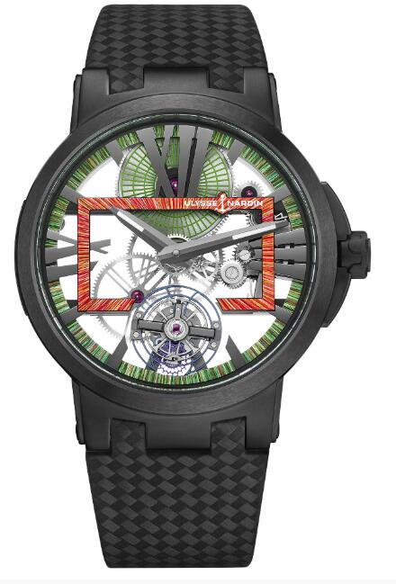 Ulysse Nardin Executive Skeleton Tourbillon Hyperspace 1713-139LE/HYPERSPACE.1 Replica Watch