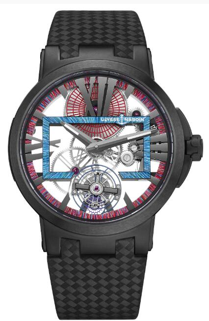 Ulysse Nardin Executive Skeleton Tourbillon Hyperspace 1713-139LE/HYPERSPACE.2 Replica Watch