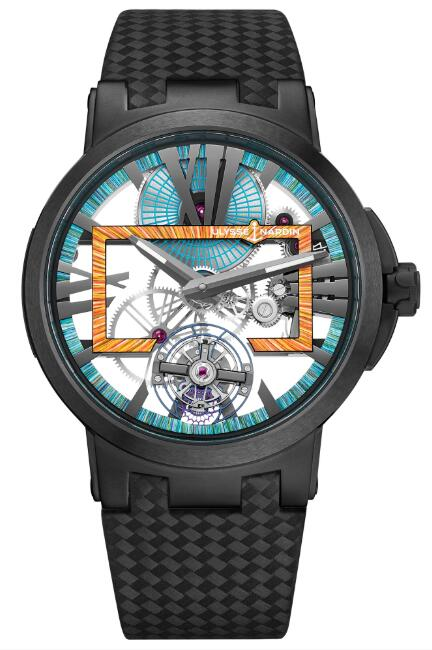 Ulysse Nardin Executive Skeleton Tourbillon Hyperspace 1713-139LE/HYPERSPACE.3 Replica Watch