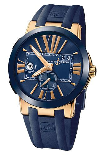Ulysse Nardin Executive Dual Time 43 mm 246-00-3/43 Replica Watch