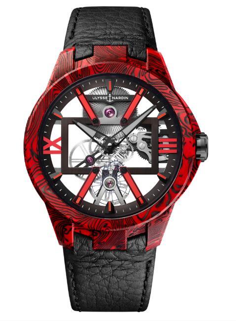 Ulysse Nardin 3713-260/MAGMA Executive Skeleton X Magma Replica Watch