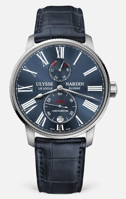 Ulysse Nardin Marine Chronometer Torpilleur 1183-310-43 Replica Watch
