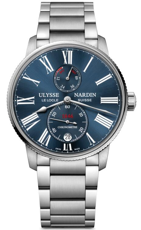 Ulysse Nardin Marine Chronometer Torpilleur 1183-310-7M/43 Replica Watch