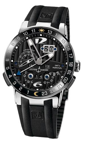 Ulysse Nardin Perpetual Calendars Black Toro 320-00-3 Replica Watch
