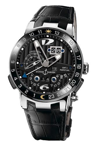 Ulysse Nardin Perpetual Calendars Black Toro 320-00 Replica Watch