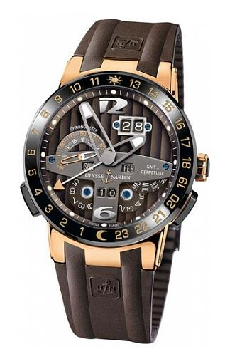 Ulysse Nardin Perpetual Calendars El Toro GMT± Perpetual 322-00-3 Replica Watch