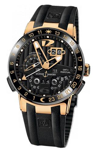 Ulysse Nardin Perpetual Calendars Black Toro 326-03-3 Replica Watch