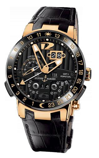 Ulysse Nardin Perpetual Calendars Black Toro 326-03 Replica Watch