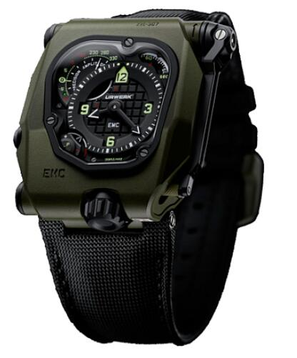 Urwerk Watch Replica EMC TIME HUNTER collection EMC TIME HUNTER CERAMIC