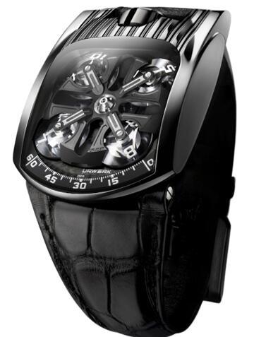 Urwerk Watch Replica 103 collection UR-103T AlTiN