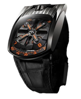 Urwerk Watch Replica 103 collection UR-103T Mexicah Fireleg