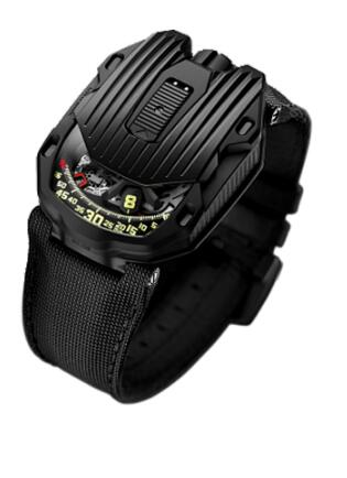 Urwerk Watch Replica 105 20th anniversary collection UR-105 CT black