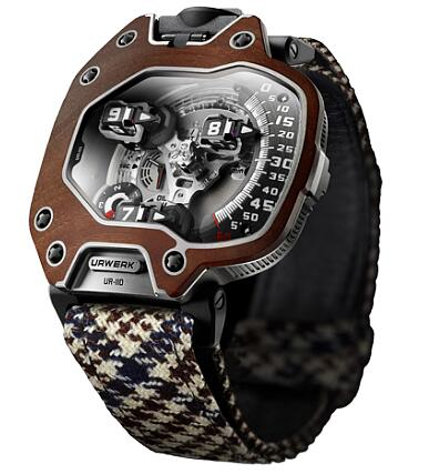Urwerk Watch Replica 110 collection UR-110 EASTWOOD RED EBONY