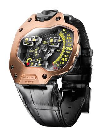 Urwerk Watch Replica 110 Torpedo collection UR-110 RG