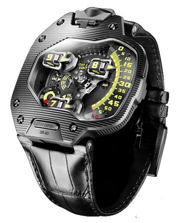 Urwerk Watch Replica 110 collection UR-110 Ti PVD