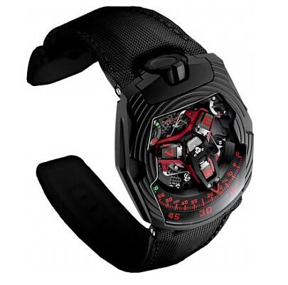 Urwerk Watch Replica 200 collection UR-210 ROYAL HAWK Red