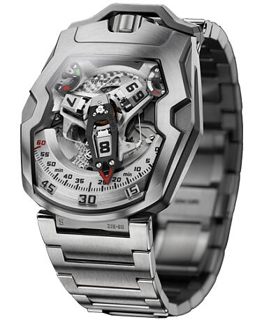 Urwerk Watch Replica 200 collection UR-210 bracelet