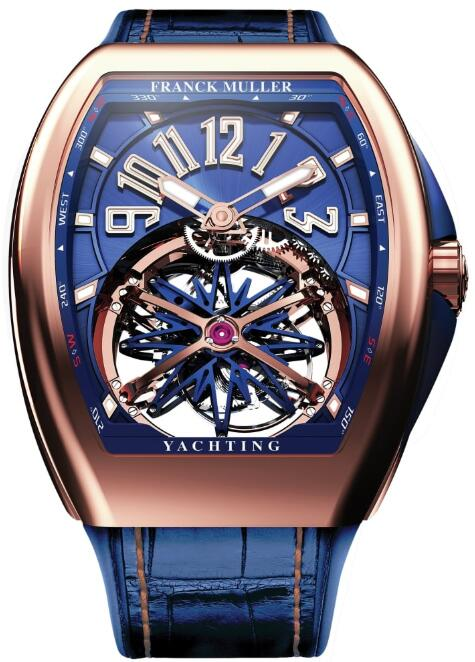 FRANCK MULLER V45 T GRAVITY CS YACHTING 5N Gravity Yachting Replica Watch