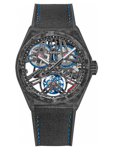 Zenith Defy FUSEE TOURBILLON 10.9000.4805/78.R916 Replica Watch