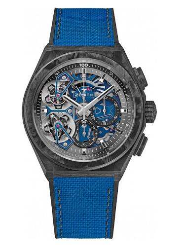 Zenith Defy DOUBLE TOURBILLON 10.9000.9020/79.R918 Replica Watch