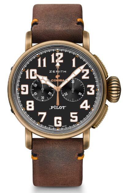 Zenith Pilot Type 20 Extra Special Chronograph Cohiba-Maduro 5 Edition 29.2432.4069/27.C794 Replica Watch