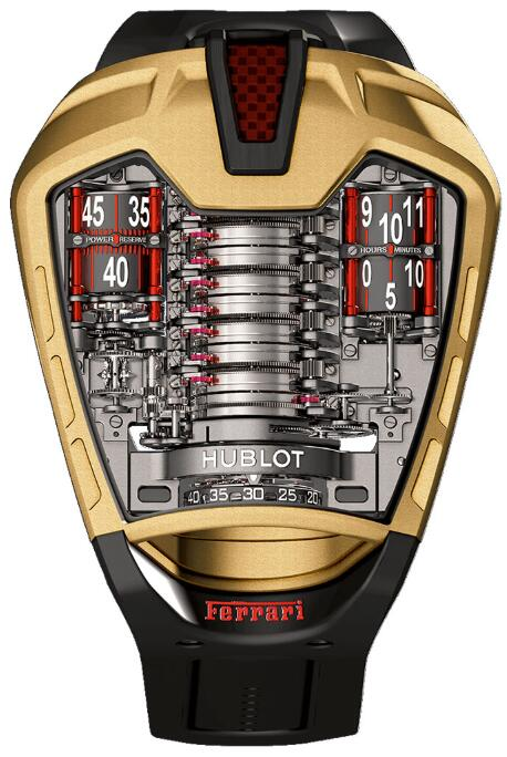 HUBLOT Masterpiece MP-05 LAFERRARI GOLD watch Replica 905.VX.0001.RX