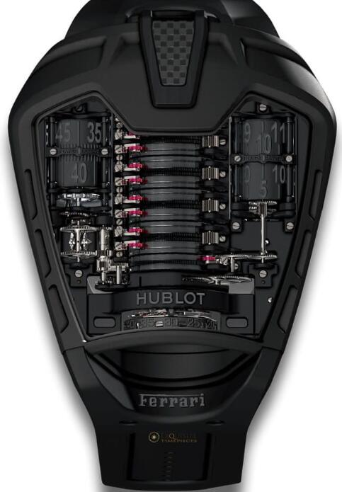 HUBLOT Masterpiece MP-05 LAFERRARI ALL BLACK watch Replica 905.ND.0000.RX