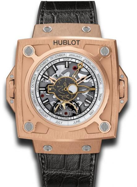 HUBLOT Masterpiece MP-08 Antikythera SunMoon watch Replica 908.OX.1010.GR