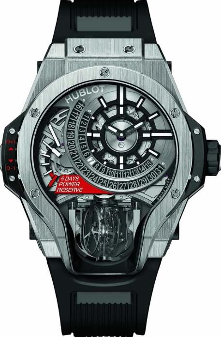 HUBLOT Masterpiece MP-09 TOURBILLON BI-AXIS watch Replica 909.NX.1120.RX